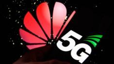 Huawei / 5G logos