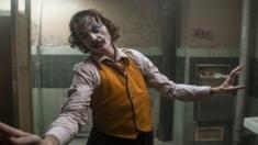 Joaquin Phoenix in a scene of Joker