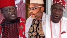 Ndị Biafra chọrọ nkewa - BBC News Ìgbò
