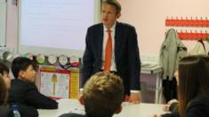 Andy Haldane in class
