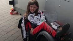 The 11 Year Old Racing Karts At 60mph