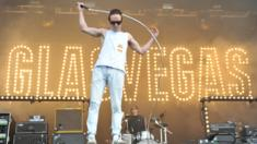 Glasvegas singer James Allan