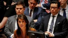 مندوبة أمريكا في مجلس الأمن قالت إن واشنطن سترد مهما كان موقف مجلس الأمن