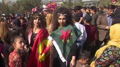 مدينة السليمانية في اقليم كردستان العراق تقيم احتفالات بمناسبة عيد النوروز والذي يصادف في يوم الاعتدال الربيعي أي 21 اذار / مارس بحسب التقويم الميلادي.