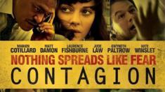 نجوم فيلم كونتيجيون في ملصق دعائي للفيلم عام 2011