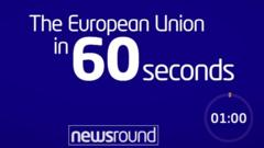 The European Union in 60 seconds