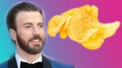 chris evans and crisps