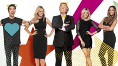 Children in need presenters