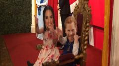 Kids from a school in Blackpool are so excited about the Royal wedding that they decided (along with the help of their teacher) to tell the story of how Harry met Meghan.