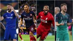 Chelsea-Arsenal-Tottenham-Liverpool-Players