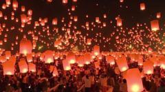 Spectacular lanterns