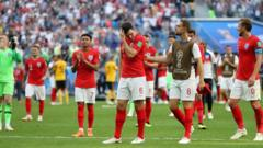 england are disappointed after losing to belgium