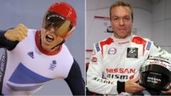 Sir Chris Hoy - cyclist and motor racer