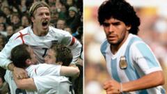 England-v-Argentina