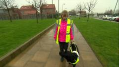 Alice and her guide dog Billy