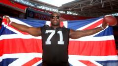 Manchester born Menelik Watson talks American Football