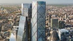 What No 1 Undershaft will look like in the skyline of London