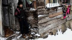 Refugee boy in Turkey