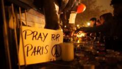 Tributes to Paris