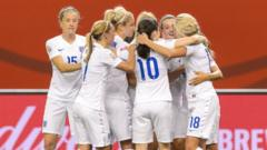 Women's World Cup 2015 highlights: England 2-1 Colombia