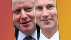 Boris Johnson/Jeremy Hunt