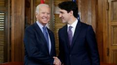 Joe Biden and Justin Trudeau