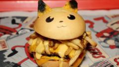Pikachu burger