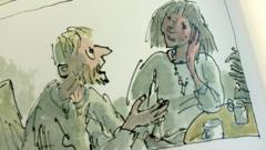 Illustration from Michael Rosen's book