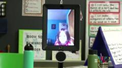 Jacob on iPad