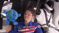 US astronaut Anne McClain