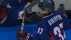 Korean hockey player Randi Heesoo Griffin