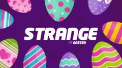 Easter strange logo.