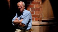 Journalist Robert Fisk poses for a photograph in Sydney, Australia, 06 March 2006 (Reissued 01 November 2020)