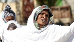 Woman in Tigray