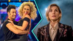 Strictly vs Dr Who image