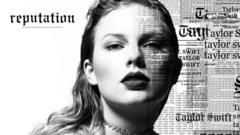 Artwork for Taylor Swift album Reputation