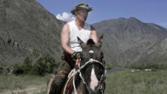Putin on a horse