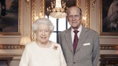 Portrait of the Queen and the Duke of Edinburgh