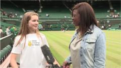 What's it like to be on centre court?