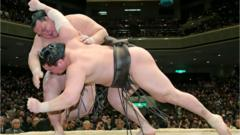 New Year Grand Sumo Tournament winner Kisenosato Yutaka