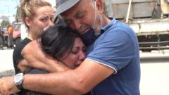 Families in Beirut are still desperately seeking news of missing loved ones.