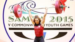 weightlifter Rebekah Tiler