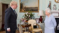 Boris Johnson and Queen Elizabeth