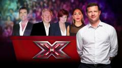 X Factor judges and host