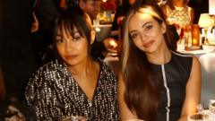 Little Mix's Leigh-Anne Pinnock and Jade Thirlwall.