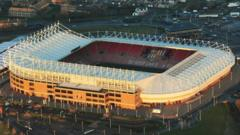 Stadium of Light, Sunderland, England