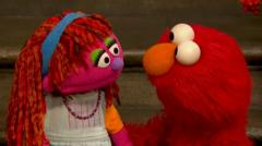 Sesame Street's first homeless muppet, Lily