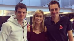 The Brownlee Brothers and Jenny