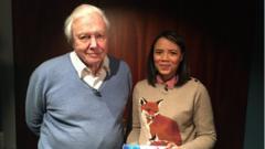 Leah and Sir David Attenborough