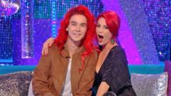 YouTube's Joe Sugg will dye hair red if he and professional dance partner Dianne Buswell make the Strictly final.